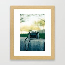 land cam. Framed Art Print
