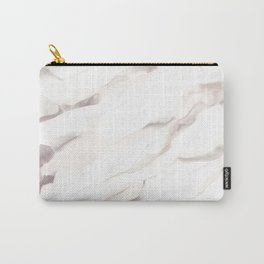 White marble texture Carry-All Pouch