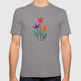 Retro tulips T-shirt
