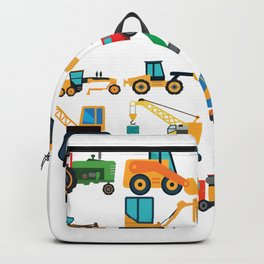 Excavator Toys Backpack