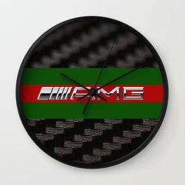 Carbon logo AMG Wall Clock