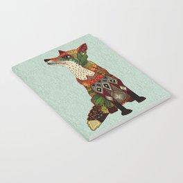 fox love mint Notebook