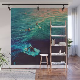 Ride the Wave Wall Mural