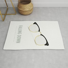 Falling Down - Alternative Movie Poster Rug