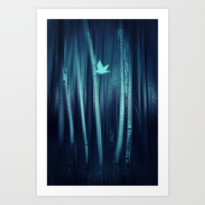 new mystic Art Print