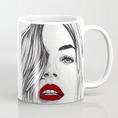 Girl with the Red Lips Mug