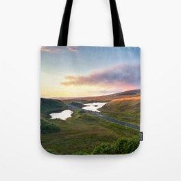 Vanishing Lakes,Ireland,Northern Ireland,Ballycastle Tote Bag
