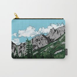 Aged Mountains  Carry-All Pouch