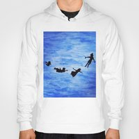 neverland Hoodies featuring Neverland by Sierra Christy Art