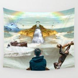 dreamer in Laguna Beach Wall Tapestry