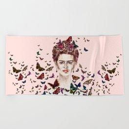 Frida Kahlo - Mexico Beach Towel