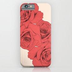 Tattoo Rose   Floral  Slim Case iPhone 6s