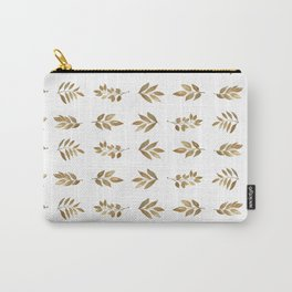 Gold Copper Autumn Leaves 1 Carry-All Pouch