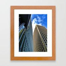 Work the Angles Framed Art Print