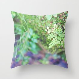 Life in the Undergrowth 02 Throw Pillow