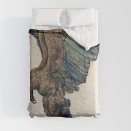 James Ward - Study of a Plunging Eagle - Digital Remastered Edition Comforters