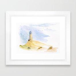 Lighthouse Impressions IV Framed Art Print