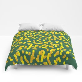 Autumn #fall #abstract Comforters
