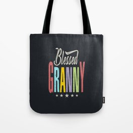 Blessed Granny Tote Bag