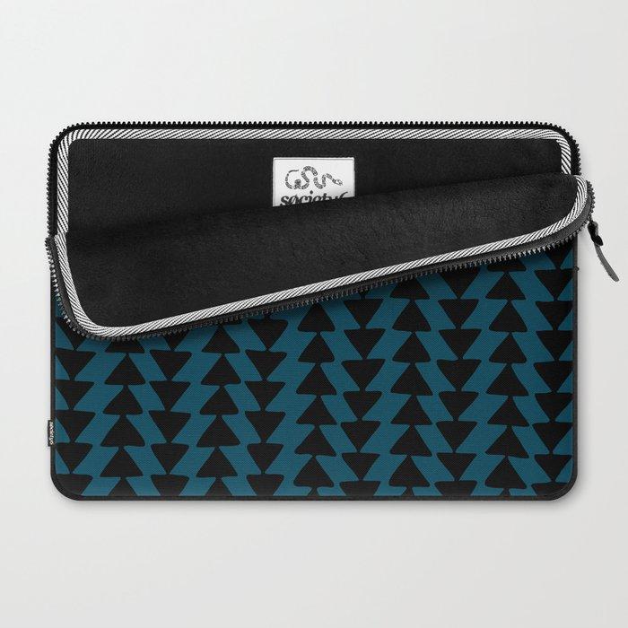 Blue Arrows Laptop Sleeve