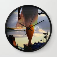 balance Wall Clocks featuring Balance  by Alexander Jedermann