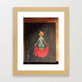 Tear in the Universe of a Heart Framed Art Print