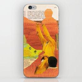 Untitled Analog Collage No.01.2016 iPhone Skin