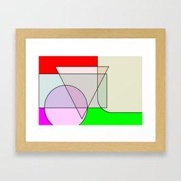 Colorandform mixery 3 Framed Art Print