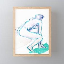 Get up Framed Mini Art Print