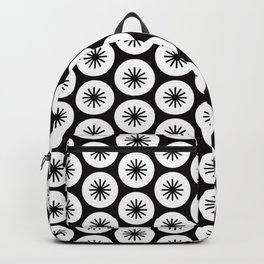 Geometric Pattern 246 (stars in circles 2) Backpack