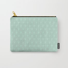 White Wine Grape Pattern Carry-All Pouch