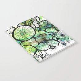 Lime Bouquet Notebook