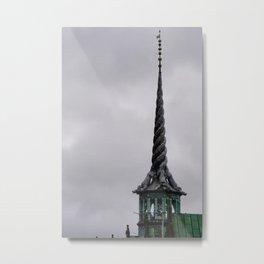 Four dragons Spire- Copenhagen Metal Print