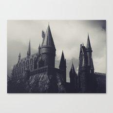 Ominous Castle Canvas Print