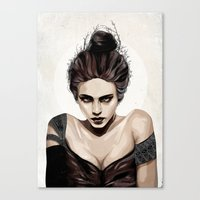 mother Canvas Prints featuring Mother, dear by Feline Zegers