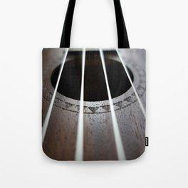 Ukelele Strings Tote Bag