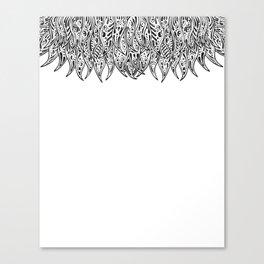 Pysch Fringe Canvas Print