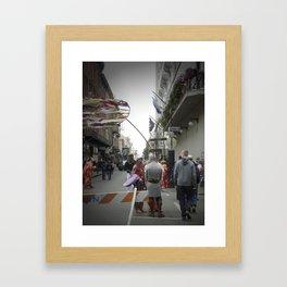 Iberville, 2011.  New Orleans, LA. Framed Art Print