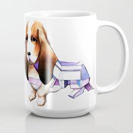 Dog Building Coffee Mug