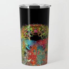 Colorful Mess Travel Mug