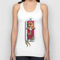 otters Tank Tops featuring R.I.P. My Haters by kevintstang