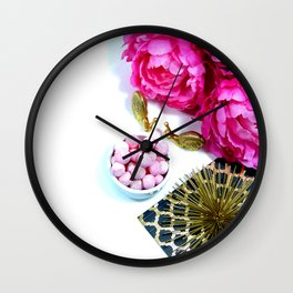 Hues of Design - 1024 Wall Clock