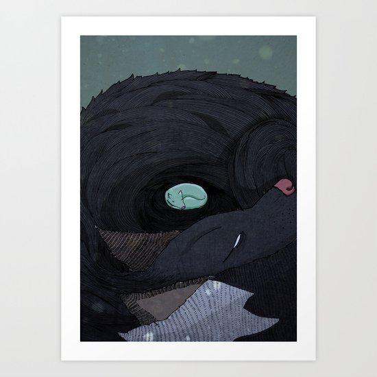 Safe Art Print