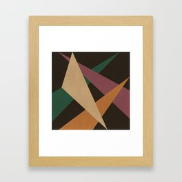 GEOMETRIC ABSTRACT 2 Framed Art Print