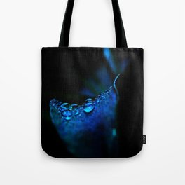 flower blue lily Tote Bag