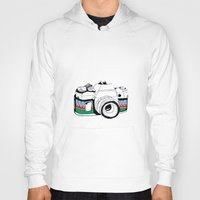camera Hoodies featuring Camera by Mariam Tronchoni