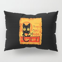 Chat Magique Pillow Sham