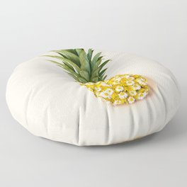 Daisy Pineapple Floor Pillow