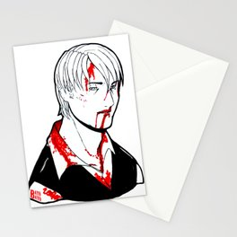 Goretober #23 - Slow and Steady Stationery Cards