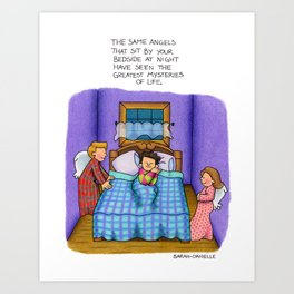 Bedside Vigil Art Print